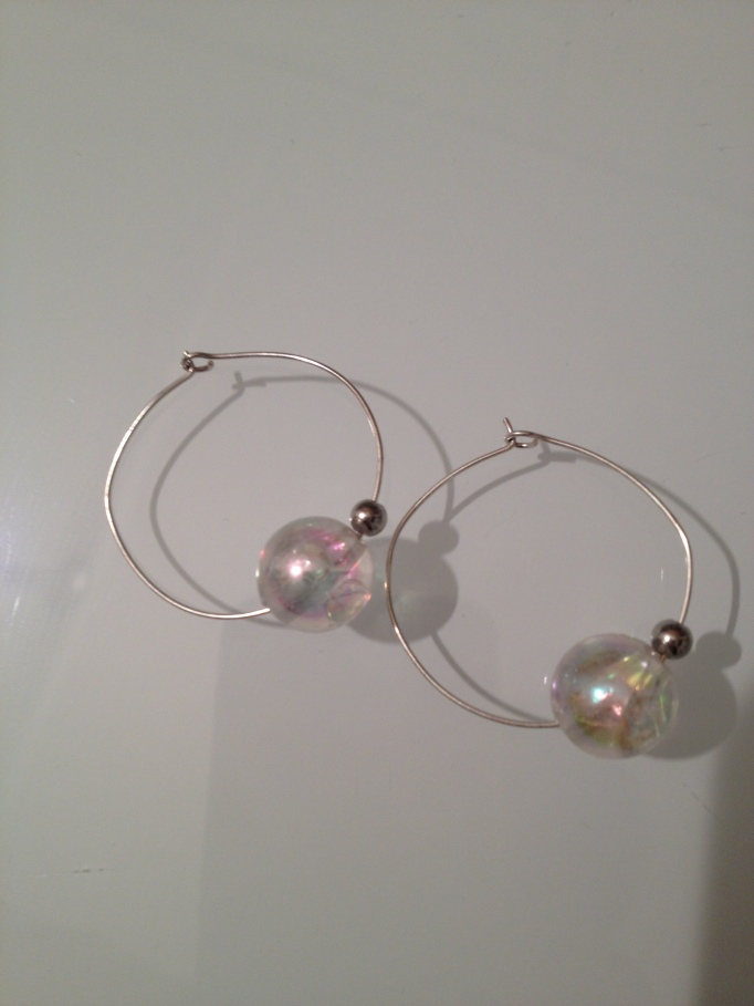Round Earrings. #E.65